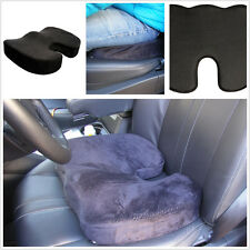 Black Ortho Wedge Cushion Car Thicken Seat Pad Pillow Protect Lower Back Spinal