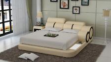 Wasserbett Hotel Doppel Bett Betten Komplett Lederbett Polsterbett Wasser LB8816
