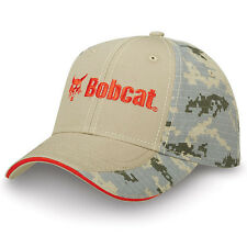 BOBCAT Equipment *TAN & DIGITAL CAMO TWILL* TRADEMARK LOGO HAT CAP * NEW* BC27