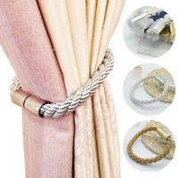 Multicolor Home Magnetic Ball Curtain Tiebacks Buckle Clips Voiles Holdbacks US