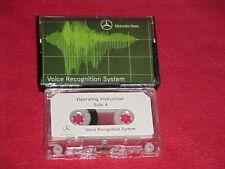 Mercedes Benz Voice Recognition System Instruction Cassette