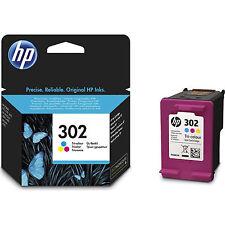 HP 302 Cartouche d'Encre d'origine Tri-colore Deskjet 1110 2130 3630 F6U65AE