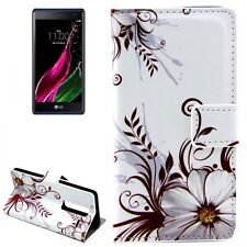 Protective Case Pattern 77 For LG Zero / Class H650e Book Cover Pouch Case NEW