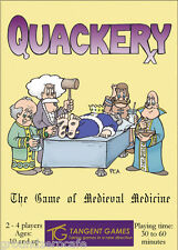 Quackery- The game of Medieval Medicine TANGENT GAMES OOP NISP