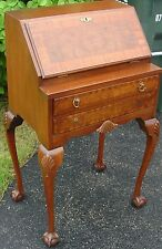 Fantastic Chippendale Style Walnut Drop Front Secretary Desk Very Very Nice