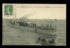 Navy France Shipping Contre-Torpilleur anti torpedo boat GRONDEUR PPC used