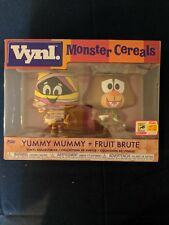 Monster Cereals Yummy Mummy & Fruit Brute 2 pack Funko Vynl SDCC 2018 Exclusive
