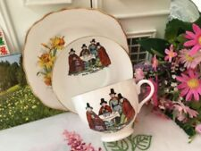 Vintage Original Tea Trio Tuscan Porcelain & China