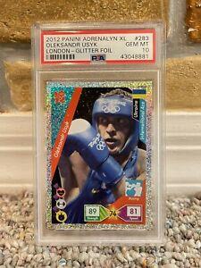 2012 OLEKSANDR USYK PANINI ADRENALYN XL LONDON ROOKIE RC CARD #283 PSA 10 GEM MT
