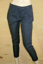 ZARA Taille 38 Superbe pantacourt bleu foncé femme corsaire