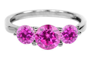 3.60Ct Round Cut AA Natural African Pink Tourmaline Solitaire Ring In 14KT Gold