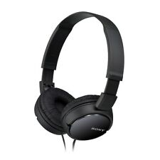 Sony mdr-zx100 OVERHEAD AURICULARES NEGRO 1.2m Plano Cable