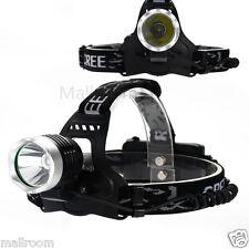 6000LM CREE XMLT6 LED Taschenlampe 18650 Kopflampe Stirnlampe Headlamp Headlight