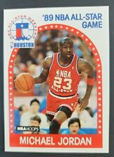 1989 NBA Hoops Vintage Basketball Card #21 Michael Jordan All-Star Chicago Bulls