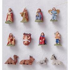 Darice Christmas Decor - Miniature Nativity Ornaments 12pc Set #2420-57