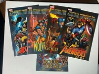 Official Handbook of the Marvel Universe 2004 Lot of 5 Issues