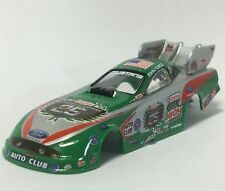 Auto World Castrol GTX 25th Anniversary John Force Body, Fits 4Gear Chassis, New