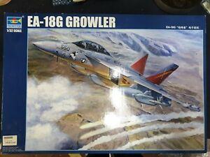 PART-BUILT 1/32 Trumpeter EA-18G GROWLER