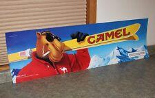 "Joe Camel Skiing Sticker Sign -48"" x 14"""