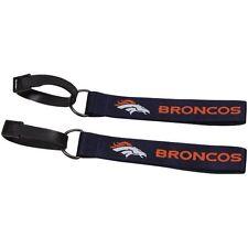 Denver Broncos Luggage ID Tag 2 Pack Travel Tags NFL Licensed