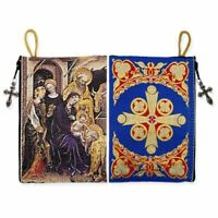 Nativity of Christ Rosary / Prayer Rope Tapestry Icon Case Pouch