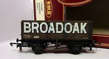 Airfix 54381 7 Plank Wagon BROADOAK brown OO boxed (M)
