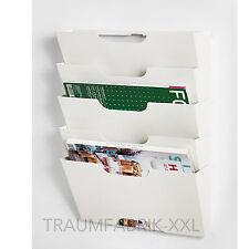 IKEA Magazine Holder Newspaper Shelf Letter Storage Wall Mount Brochure Holder