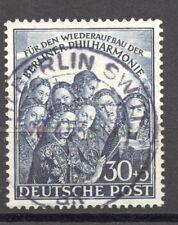 Berlin, 1950, Philharmonic Hall, 30 + 5 Pf. VF ++ used , no faults,