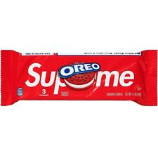 Supreme x Oreo Cookies - Pack of 3 - SS20 - 100% AUTHENTIC - BRAND NEW SEALED