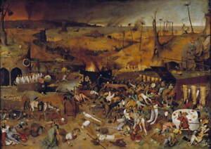 Pieter Bruegel The Elder The triumph of death Giclee Paper Print Poster