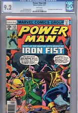 (1977) POWER MAN #48! 1st IRON FIST team up! CGC 9.2! WP! NETFLIX SERIES!