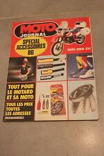 MOTO JOURNAL HORS SERIE SPECIAL ACCESSOIRES 86 1986
