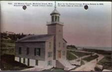 (ug9) Mackinac Island MI: Old Mission Church