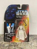 1995 Star Wars The Power Of The Force Princess Leia Organa With Laser Pistol