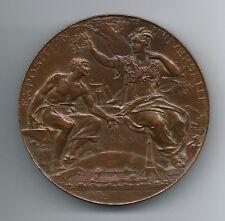 Exposition Universelle Paris 1889/Eiffel Tower/Bronze Medal by Louis Bottée. M45