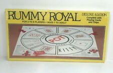 Vintage Sealed 1981 Rummy Royal Deluxe Edition Board Game w/ Cards and Chips