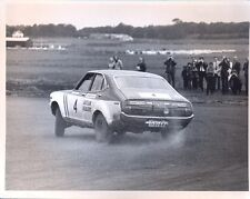 Datsun Violet Jim Clark Rally original period press photo - 2