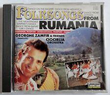 Folksongs From Rumania - Georghe Zamfir & Friends - /CD (7669