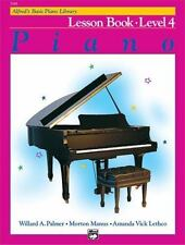 Alfred's Basic Piano Library: Lesson Book 4 (Paperback)