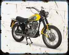 DUCATI 450 SCRAMBLER A4 Imprimé Photo moto Vintage Aged