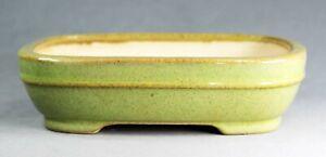 Tokoname Soft Rect. Bonsai Pot by Kouyou kiln, #17T10S, 177*133*H47mm