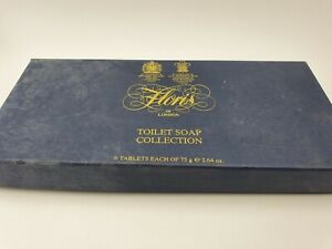 Vintage Floris of London Luxury Toilet Soap Collection - 3 Soap Bars