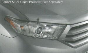 Toyota Kluger GSU40 GSU45 Bonnet Protector Clear Jul 2010 - Dec 2013 PZQ15-48040