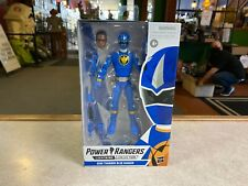 "Hasbro Power Rangers Lightning Collection DINO THUNDER BLUE 6"" Inch Figure NIP"
