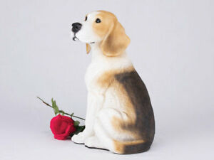 Pet Dog Figurine Cremation Urn - Beagle