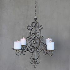 Kerzen Kronleuchter Kerzenleuchter Decke Vintage Landhaus Shabby Hängeleuchter
