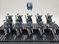Star Wars Mandalorian Death Watch Custom Set 10 Minifigures Lot - USA SELLER