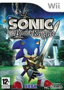 Wii Game Sonic and The Black Knight, New