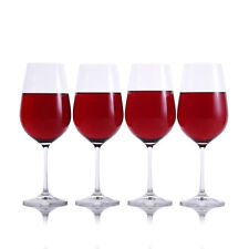 Red Wine Glasses Set of 4 by Crystalize