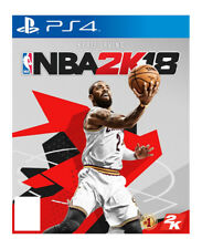 NBA 2k18 Sony PlayStation 4 Ps4 Game